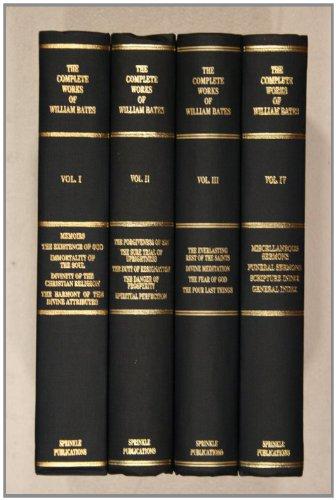 The Complete Works of William Bates (4-Volume Set): William Bates