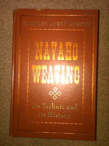9780873800174: Navaho Weaving: its Technic and History