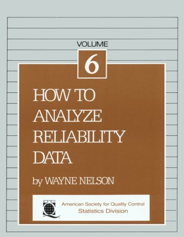 9780873890182: How to Analyze Reliability Data (The ASQC basic references in quality control. Statistical techniques)