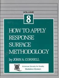 9780873890663: How to Apply Response Surface Methodology: Vol 8