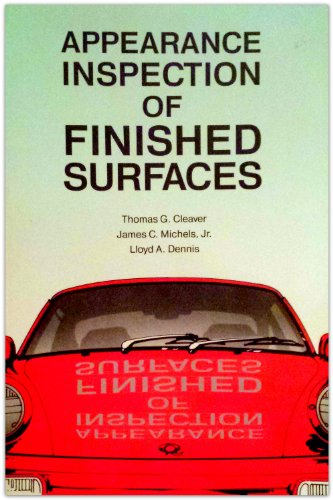 9780873891004: Appearance Inspection of Finished Surfaces