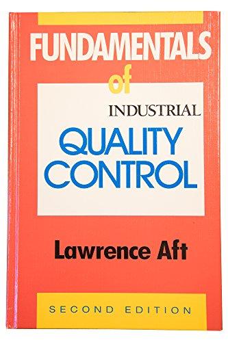 9780873891240: Fundamentals of Industrial Quality Control