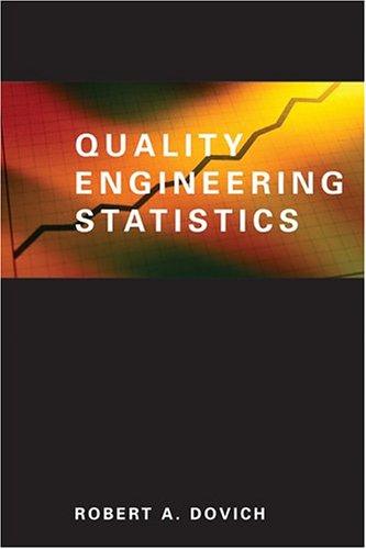 9780873891417: Quality Engineering Statistics