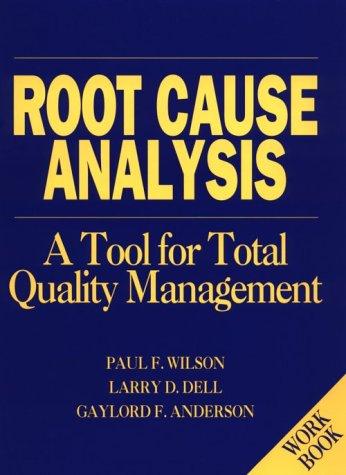 9780873892070: Root Cause Analysis/Workbook (H0701A)