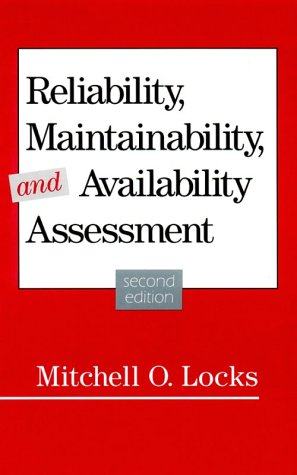 9780873892933: Reliability, Maintainability, and Availability Assessment(H0849)