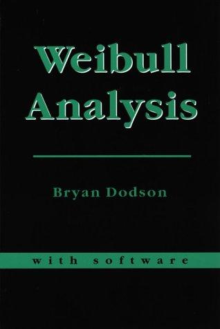 Weibull Analysis: Dodson, Bryan