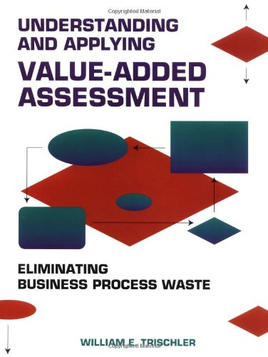 9780873893695: Understanding and Applying Value-Added Assessment : Eliminating Business Process Waste #H0934