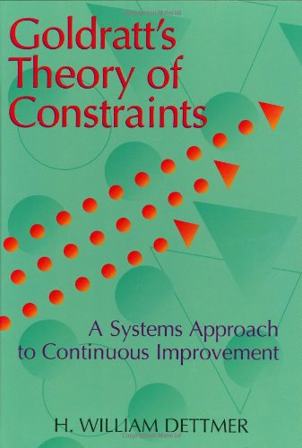 9780873893701: Goldratt's Theory of Constraints: A Systems Approach to Continuous Improvement