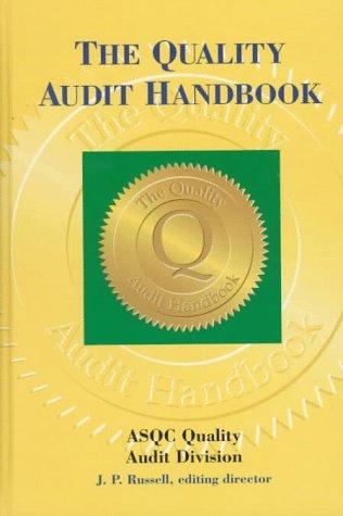 9780873893749: The Quality Audit Handbook