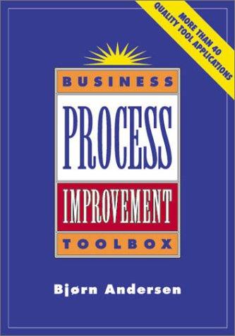 9780873894388: Business Process Improvement Toolbox