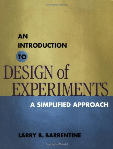 9780873894449: An Introduction to Design of Experiments: A Simplified Approach