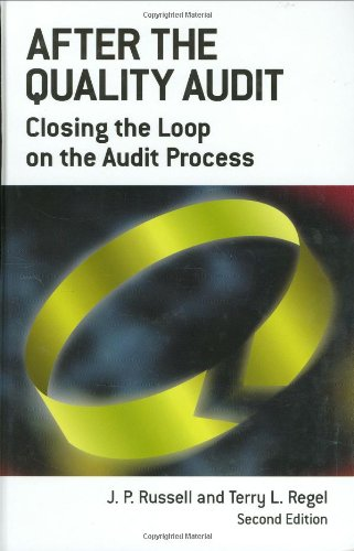 9780873894869: After the Quality Audit: Closing the Loop on the Audit Process
