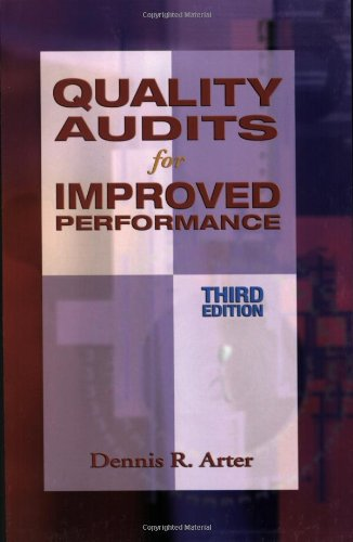 9780873895705: Quality Audits for Improved Performance