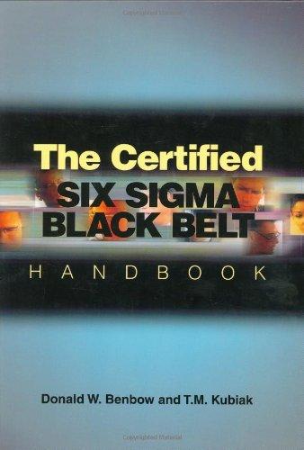 9780873895910: The Certified Six Sigma Black Belt Handbook