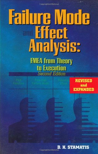 9780873895989: Failure Mode and Effect Analysis: FMEA from Theory to Execution