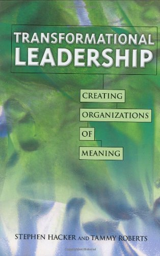 9780873896108: Transformational Leadership: Creating Organizations of Meaning