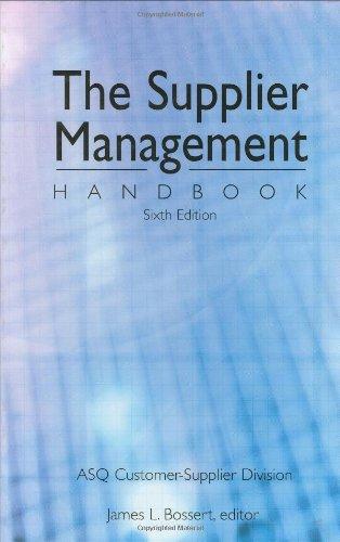 9780873896290: Supplier Management Handbook