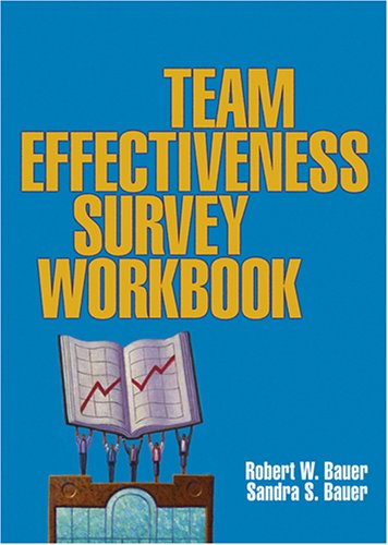 9780873896726: The Team Effectiveness Survey Workbook