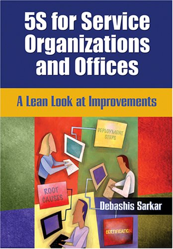 9780873896771: 5s for Service Organizations and Offices: A Lean Look at Improvements