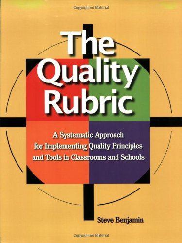 9780873897037: The Quality Rubric: A Systematic Approach for Implementing Quality Principles And Tools in Classrooms And Schools