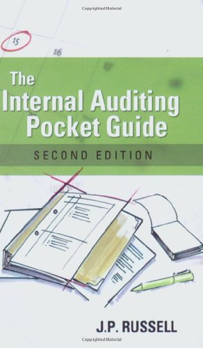 9780873897105: The Internal Auditing Pocket Guide: Preparing, Performing, Reporting and Follow-up, Second Edition