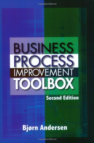 9780873897198: Business Process Improvement Toolbox