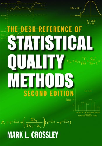 The Desk Reference of Statistical Quality Methods, Second Edition: Crossley, Mark L.