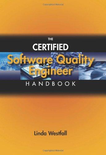 9780873897303: The Certified Software Quality Engineer Handbook
