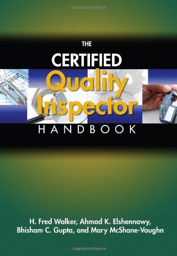 9780873897310: The Certified Quality Inspector Handbook
