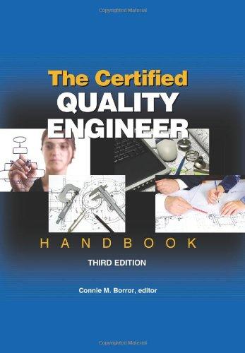 9780873897457: The Certified Quality Engineer Handbook