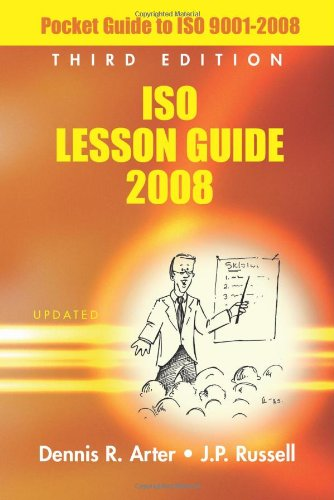 9780873897488: ISO Lesson Guide 2008: Pocket Guide to ISO 9001-2008, Third Edition