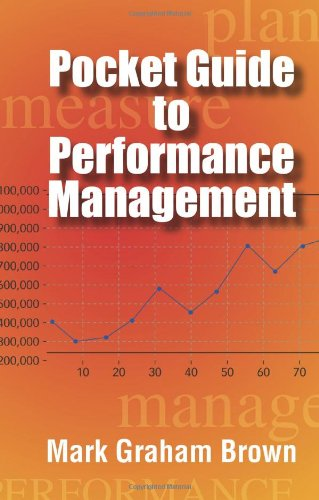 9780873897815: Pocket Guide to Performance Management