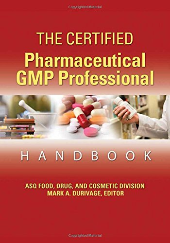 9780873897945: The Certified Pharmaceutical GMP Professional Handbook