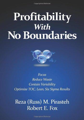 9780873897952: Profitability With No Boundaries: Optimizing TOC, Lean, Six Sigma
