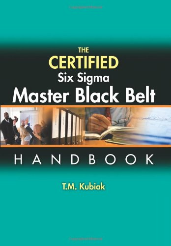 9780873898058: The Certified Six Sigma Master Black Belt