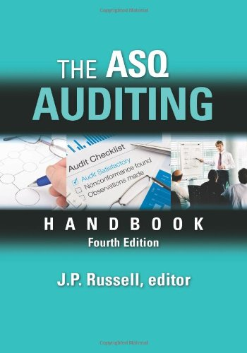 9780873898478: The ASQ Auditing Handbook, Fourth Edition