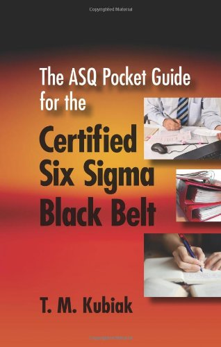 9780873898560: The ASQ Pocket Guide for the Certified Six Sigma Black Belt