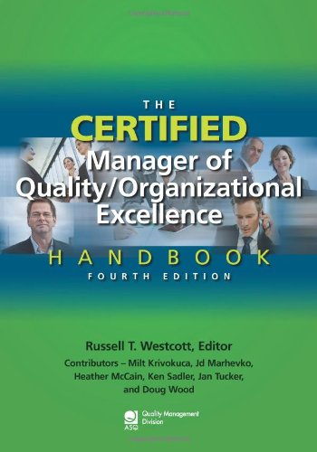 9780873898614: The Certified Manager of Quality/Organizational Excellence Handbook, Fourth Edition