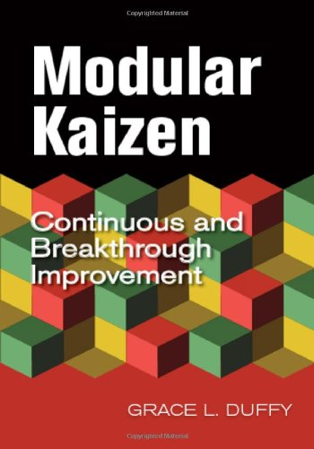 9780873898645: Modular Kaizen: Continuous and Breakthrough Improvement