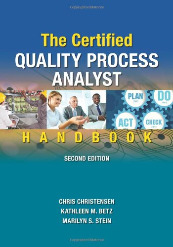 9780873898652: The Certified Quality Process Analyst Handbook, Second Edition