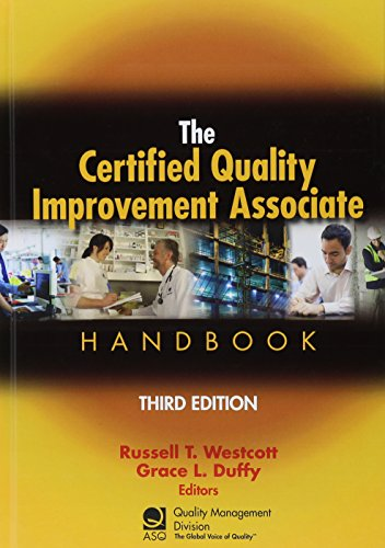 the certified quality improvement associate handbook third edition pdf