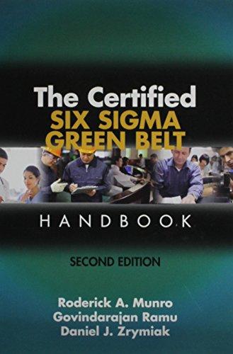9780873898911: The Certified Six Sigma Green Belt Handbook