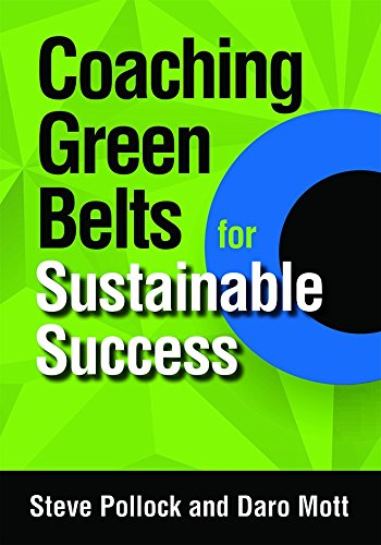 9780873899048: Coaching Green Belts for Sustainable Success