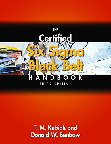 9780873899413: The Certified Six Sigma Black Belt Handbook, Third Edition