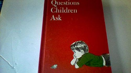 Questions children ask, (Child horizons): Bonhivert, Edith