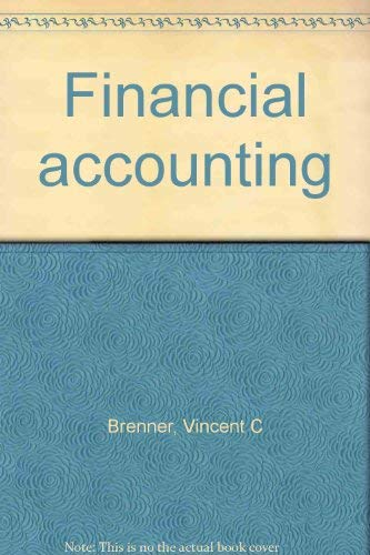Financial Accounting: Revised Edition