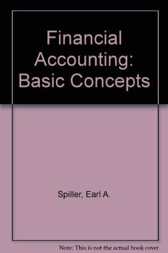 9780873932868: Financial Accounting: Basic Concepts