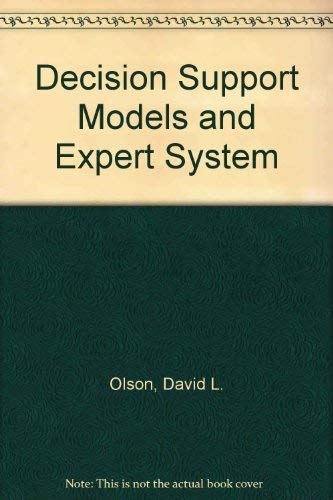 Decision Support Models and Expert System: Courtney, James F.,