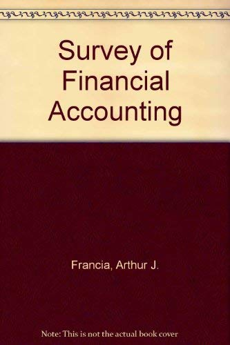 9780873937825: Survey of Financial Accounting