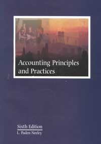 9780873938310: Accounting Principles and Practices